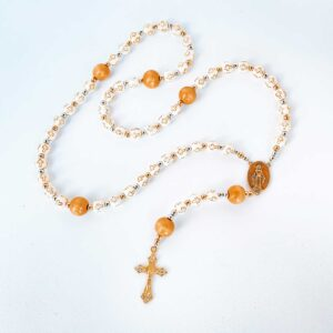 Our Kids at Heart Rosary with Cross Beads