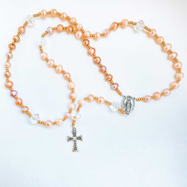 Our Kids at Heart Rosary with Pearls