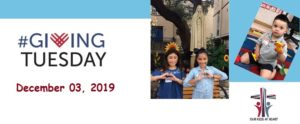Giving Tuesday December 3, 2019